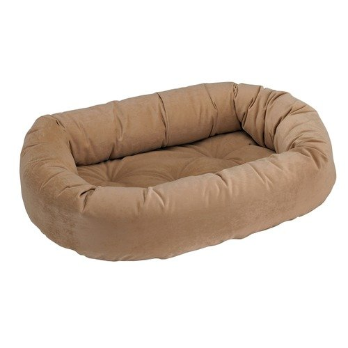 Donut Dog Bed Size: XX-Large, Color: Khaki For Sale