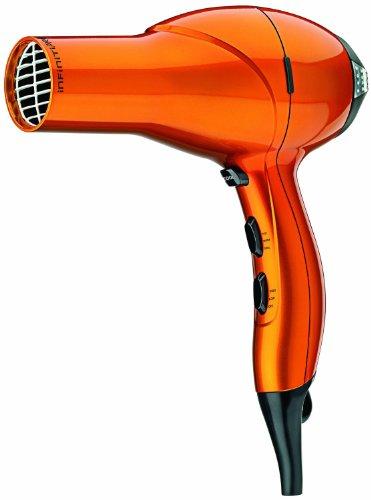 Infiniti Pro by Conair 1875 Watt Salon Performance AC Motor Styling Tool / Hair Dryrer; Orange (Infiniti Hair Dryer Orange compare prices)