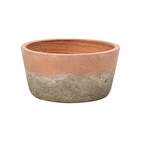 Burgon & Ball Aged Terracotta Indoor House Plant Pot Low