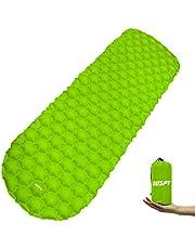 OUSPT Isomatte Camping Ultraleichte Aufblasbare Luftmatratze Isomatte Rutschfest,Tragbare Sleeping Pad für Camping,Outdoor,Wandern
