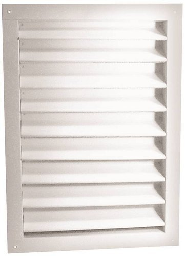 Dual Louver 12x18in White -
