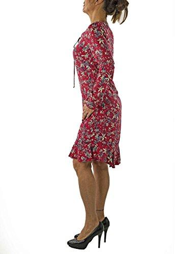 Donna Tunica MainApps Lunghe Abito Orchid NENETTE Maniche 46 Porpora Stampa Zvxnq7