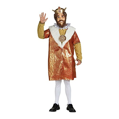 Deluxe Burger King Costume Adult Mens Hilarious Funny Whacky Halloween Most Viewed