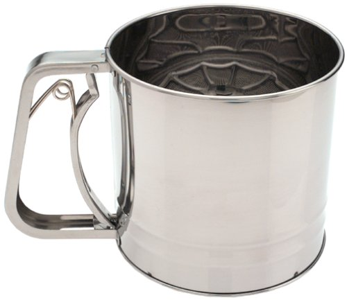 Amco Stainless Steel Sifter, 5-Cup by Amco