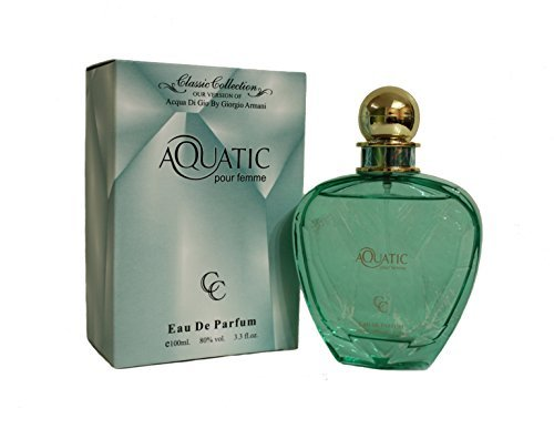 Aquatic Pour Femme -Our Version of Acqua Di Gio Women (Acqua Di Gio 100 Ml)