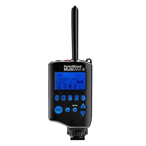 (PocketWizard MultiMAX II Transceiver, Remote Control Radio Slave.)