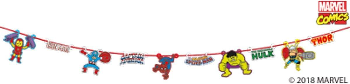 Procos Guirlande en Carton Premium Avengers Pop Comic 100 x 18 cm