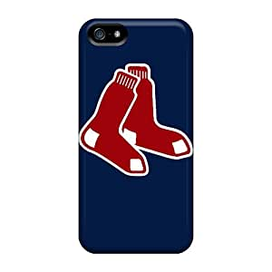 Protective Hard Phone Case For Iphone 5/5s With Provide Private Custom Fashion Boston Red Sox Image Marycase88