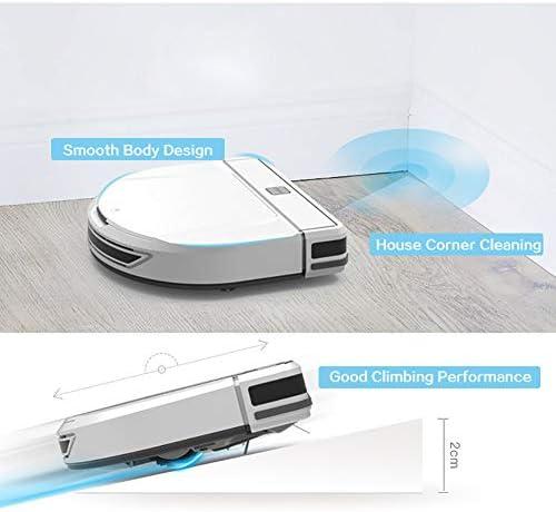 YSCCSY Smart Robot Aspirateur 1200Pa avec Séchage Humide/Sec Fonction Aspirateur sans Fil Puissant Nettoyage D\'aspiration