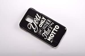 FBA 3 regalo de Navidad - case por Samsung Galaxy S5 you negro funda