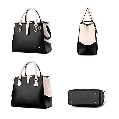 Crossbady Top for Nevenka and Purses Pu Summer Women Satchel Blue Girl for Leather Handbag Handle Handbags OqdwdfHU