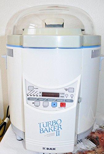 DAK Turbo Baker IV Bread Maker Welbilt Machine FAB-2000 IV