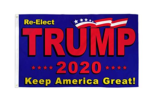 ALBATROS 3 ft x 5 ft Re-Elect Donald Trump 2020 Keep America Great Flag Banner Grommets USA for Home and Parades, Official Party, All Weather Indoors Outdoors