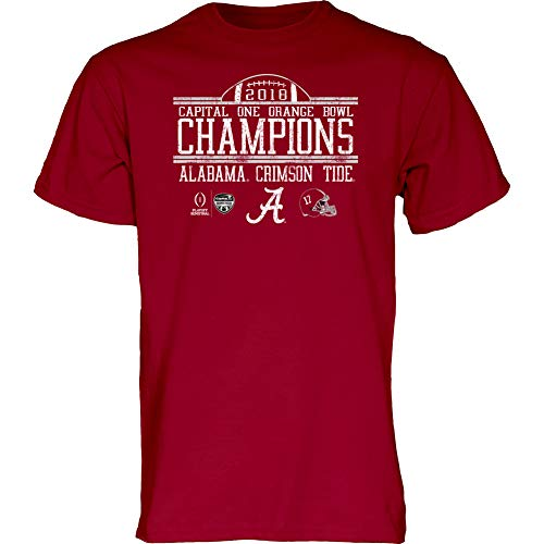 Elite Fan Shop Alabama Crimson Tide Championship Tshirt 2018 Vintage - XXL ()