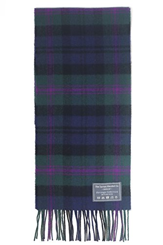 The Tartan Blanket Co. Scottish Lambswool Scarf Baird Tartan - Scottish Lambswool