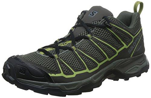 Salomon Men's X Ultra Prime Hiking Shoe, Castor Gray, 12 M US (Ski Salomon Mountain Boots)