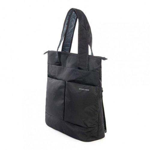 , Tirante para Hombro, Negro - Funda Funda Tipo Mochila, 38,1 cm 15 15 Tucano Pi/ù Shopper maletines para port/átil 38,1 cm