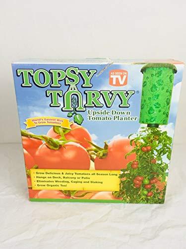 Casavidas Seeds: Topsy Turvy Upside Down Tomato Planter As Seen on TV ()