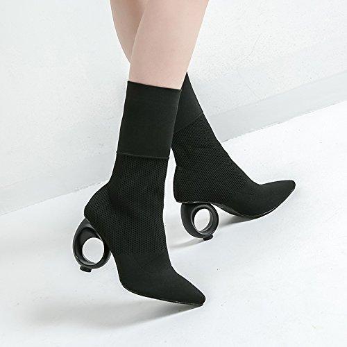 - chaussettes chaussures bottes à talon bottes à élastique martin bottes