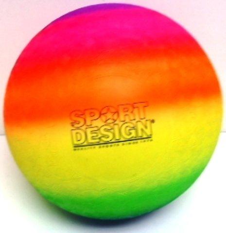"DDI Neon 9"" Rainbow Playground Kickball from D&D"