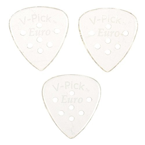 V-Picks Euro Guitar Picks (x3) E13 w/Bonus RIS Pick (x1) [並行輸入品]   B078HY4T45