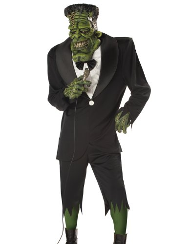 Big Frank Adult Mens Frankenstein Halloween (Frankenstein Costumes For Adults)