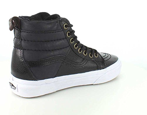 Hi leather Sk8 pebble Pebble Kids 46 Black Leather MTE Vans UBq1w55