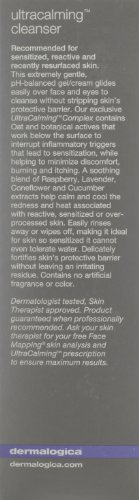 dermalogica ultracalming cleanser, for face and eyes