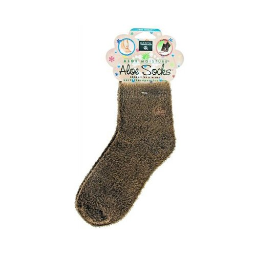 Earth Therapeutics Infused Socks, Brown
