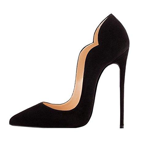 Scarpe Heel Tacco Nero Tacco scarpe Alto Donna Soireelady Scarpe Con high dT6XRwq