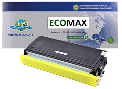 - ECOMAX Compatible TN460 HY Black Toner Cartridge, Replacement for DCP-1200,1400, FAX-4750,5750,8350,8360,8750, HL-1030,1230,1240,1250,1270,1430,1435,1440,1450,1470,P2500, Intellifax 4100,4750,5750