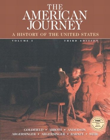 The American Journey, Vol. 1, Third Edition