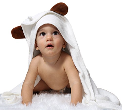 baby bath towels with hood - 3