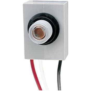 Intermatic K4021C 120-Volt Fixed Position Thermal Photocontrol on adjustable photocell, area lighting research photocell, dusk to dawn photocell, lighting control photocell, 2 wire photocell, night light photocell, tyco photocell, button type photocell, hardwired timer with photocell, utilitech photocell,