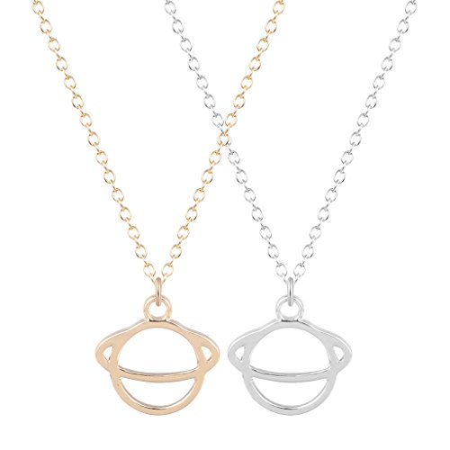 chengxun-fashion-jewelry-golden-silver-pretty-saturn-planet-pendant-statement-choker-collar-necklace
