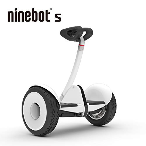 Segway Ninebot S Smart Self-Balancing Electric Transporter, White (Electric Mini Scooter)