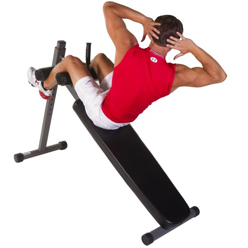 XMark Fitness 11-Gauge Adjustable Ab Bench XM-7461 by XMark Fitness