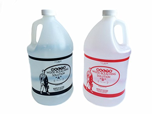 (Daly's 2 Part Wood Bleach Solution Kit Containing Solution A and B, 1 Gallon Each)