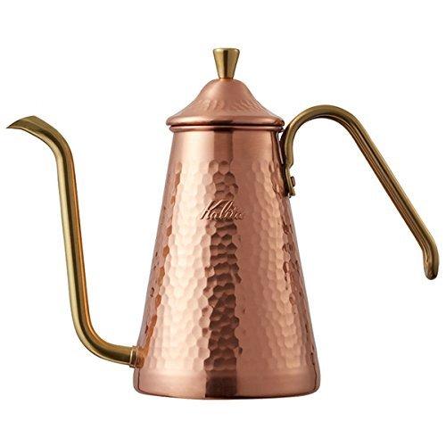 Kalita Tsubame Drip Pot Slim Copper 700CUX #52203 from Japan by Kalita