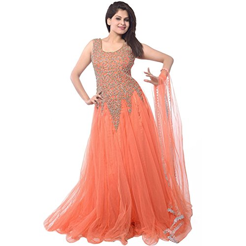 RUHANI Womens Anarkali Designer Bollywood