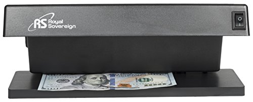 : Royal Sovereign Countertop Counterfeit Detector / ID Checker Machine, Ultraviolet Counterfeit Detection, Black (RCD-1000)
