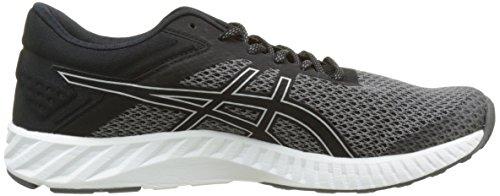Asics Fuzex Lyte 2, Zapatos para Correr para Hombre Gris (Black/silver/white)
