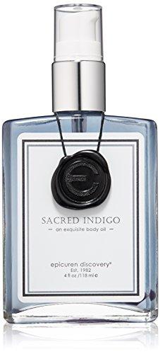 Epicuren Discovery Sacred Indigo Exquisite Body Oil, 4 Fl oz