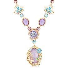 The Starry Night Bohemian Style Beautiful Flower Girl Femininity Noble Temperament Necklace