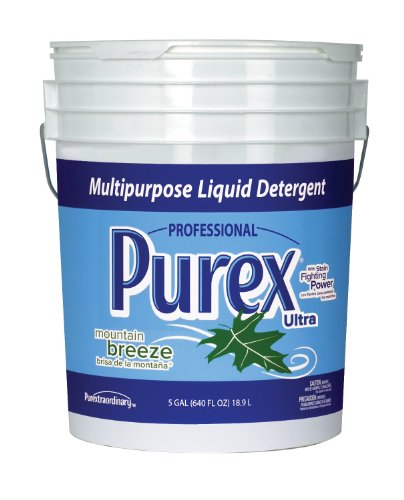 Dial 1468876 Professional Purex Mountain Breeze Multipurpose Liquid Detergent, 5 Gallon Pail, 426 - 5 Gallon Liquid Pail