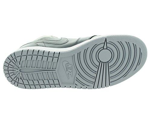 wolf Blanco Chaussures Grey Cool Sport Grey NIKE BG garçon Multicolore Jordan Gris Mid 1 de White Air XqXxwaPSZ