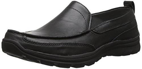 Skechers USA Men's Relaxed Fit Memory Foam Superior Gains Slip-On,10 M ()