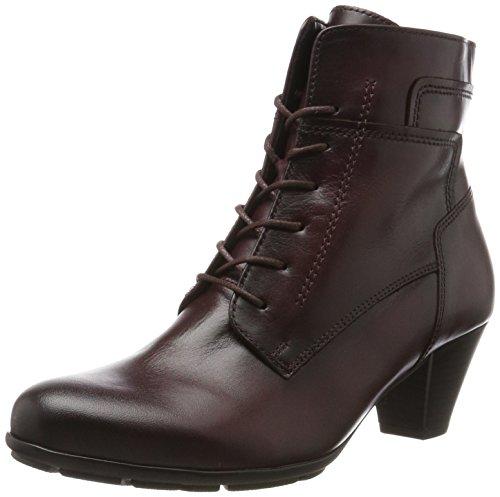Gabor para Shoes Rojo Basic Mujer Botas Wine Effekt Gabor 25 rwrZIS