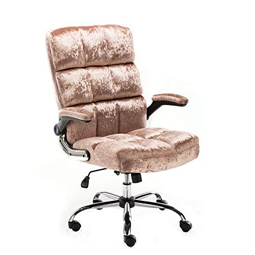 ALEKO ALC3288ROSE Upholstered Fabric Luxury Office Chair