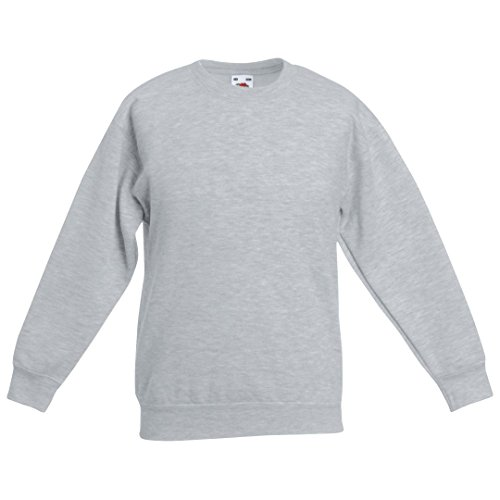 Fruit of the Loom - Sudadera - para mujer gris